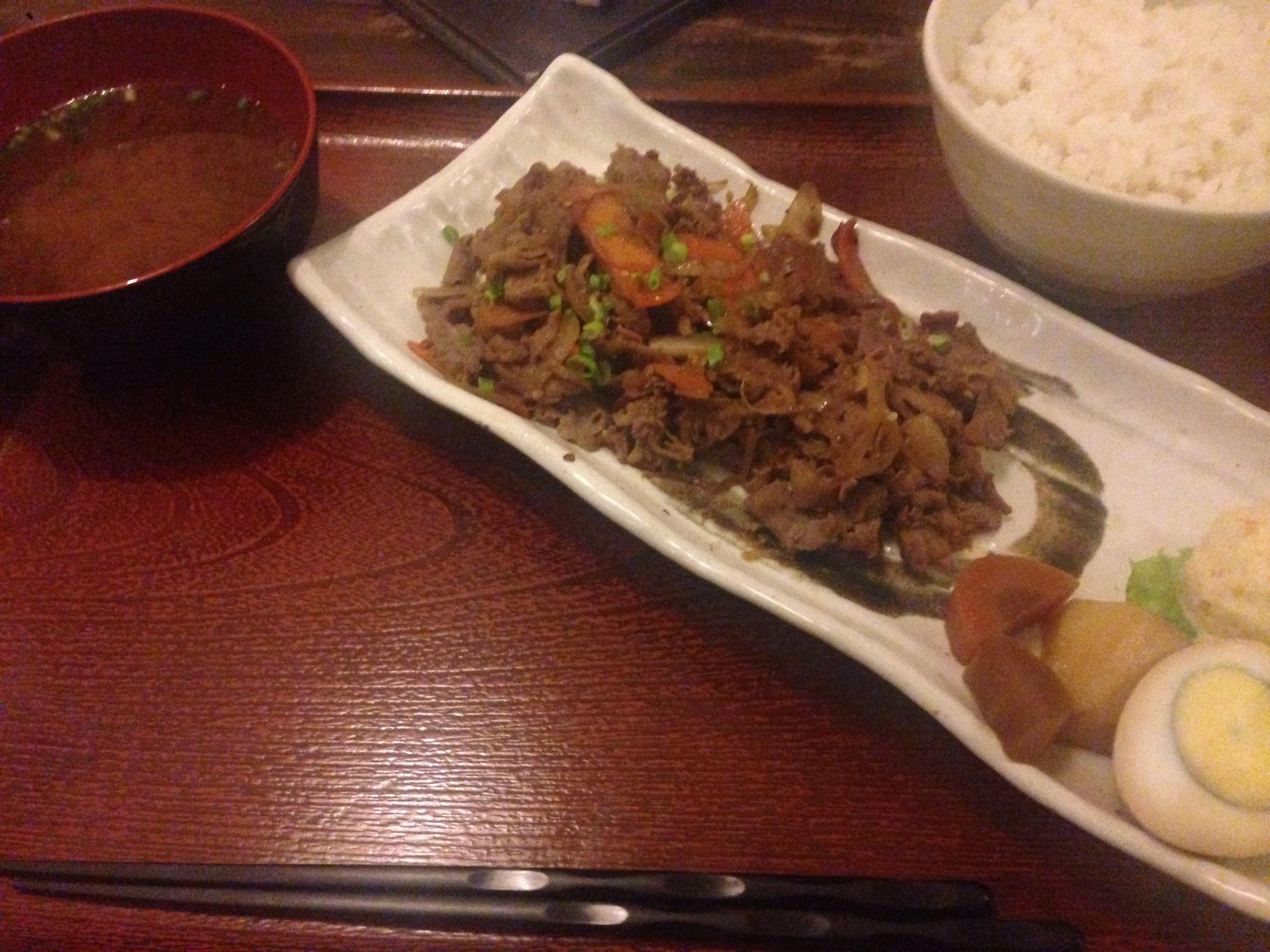 0902焼肉定食